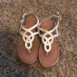 Light gold DSW sandals